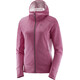 """Salomon W's Right Nice Mid Hoodie Jacket Beet Red"""